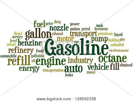 Gasoline, Word Cloud Concept 7