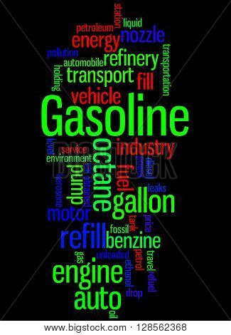 Gasoline, Word Cloud Concept 9