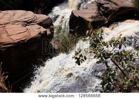 Banfora Falls In Burkina Faso