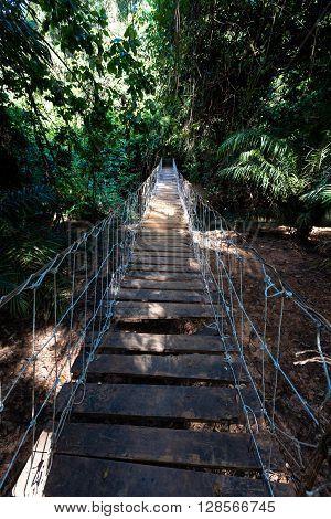 Bridge In Burkina Faso
