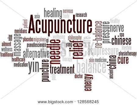 Acupuncture, Word Cloud Concept 5