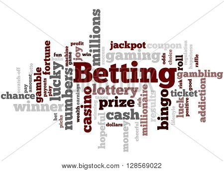 Betting, Word Cloud Concept 9