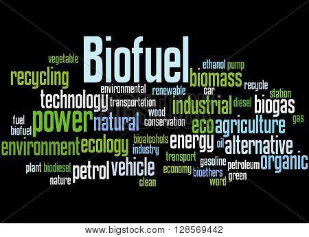 Biofuel, Word Cloud Concept