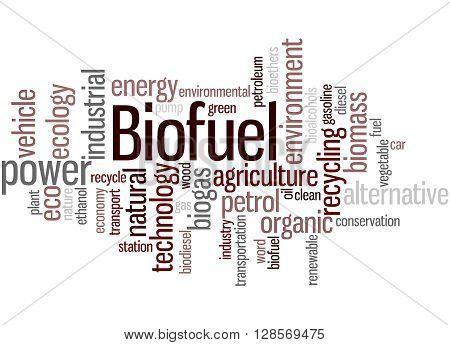 Biofuel, Word Cloud Concept 3