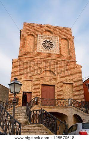 Church of Saint Michael Archangel in Miglianico (Italy)