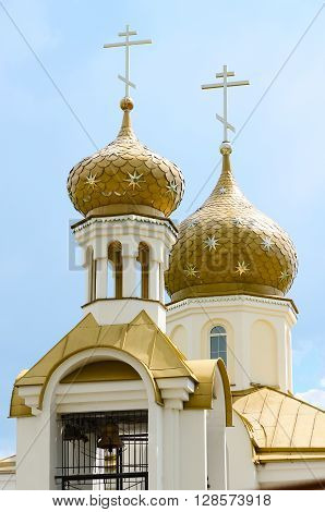 St. Nicholas Church in the village Danilovichi of Vetka district Gomel region Belarus