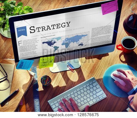 Strategy Motivation Operation Planning Process Concept