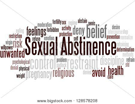Sexual Abstinence, Word Cloud Concept 7