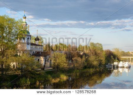 View of the Church in the city of Vologda ** Note: Soft Focus at 100%, best at smaller sizes