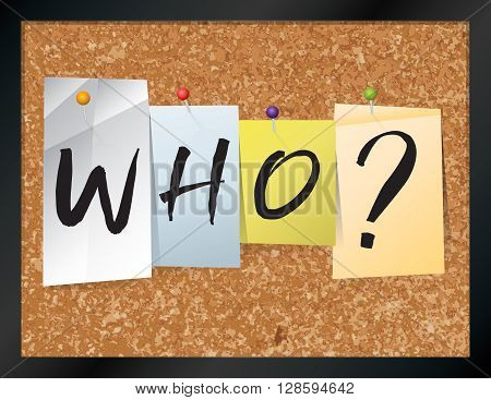 Who Bulletin Board Theme Illustration