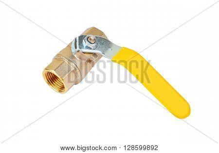 Yellow Gas Valve