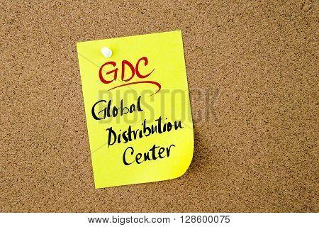 Business Acronym Gdc Global Distribution Center