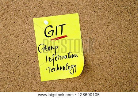 Business Acronym Git Group Information Technology