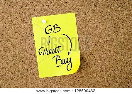Business Acronym Gb Great Buy