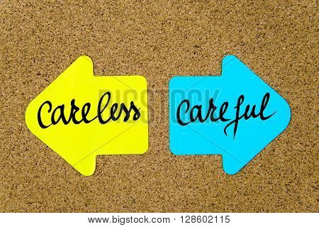 Message Careless Versus Careful