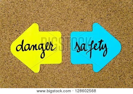 Message Danger Versus Safety