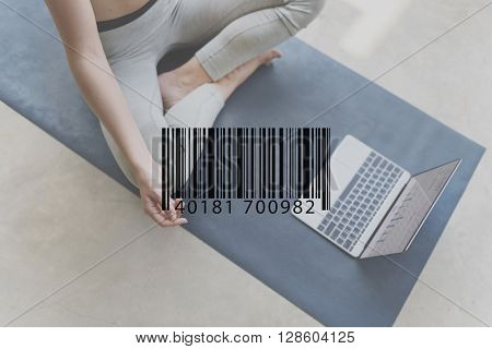 Barcode Scanner Retail Label Laser Merchandise Concept