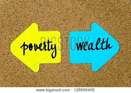 Message Poverty Versus Wealth
