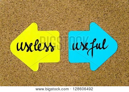 Message Useless Versus Useful