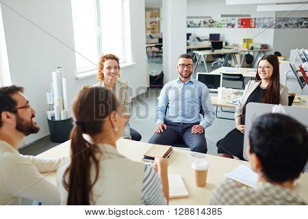 Business gathering