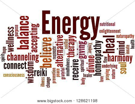 Energy, Word Cloud Concept 6