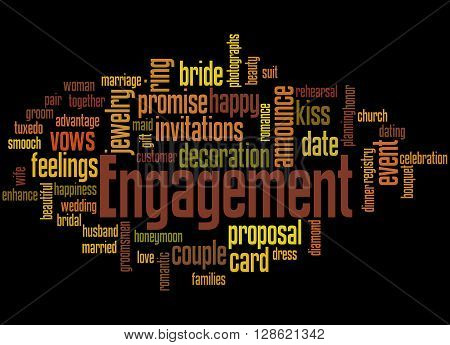 Engagement, Word Cloud Concept 6