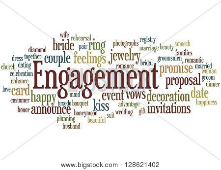 Engagement, Word Cloud Concept 7