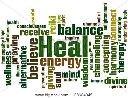 Heal, Word Cloud Concept 9
