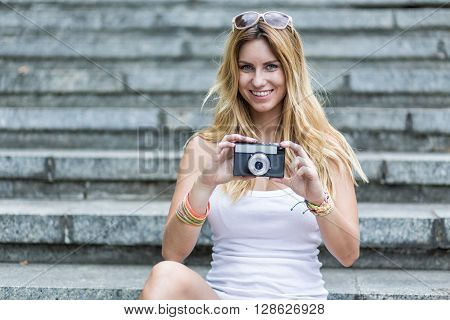 Taking A Picture