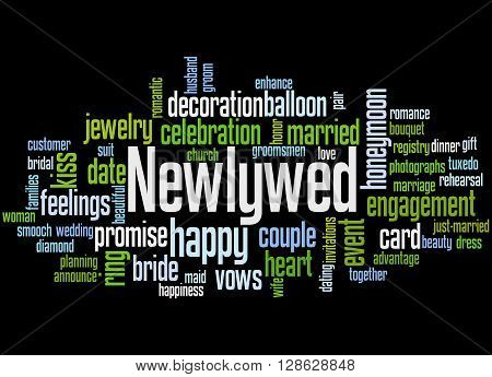 Newlywed, Word Cloud Concept 4