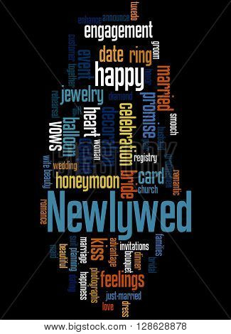 Newlywed, Word Cloud Concept 5