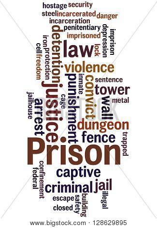 Prison, Word Cloud Concept 5
