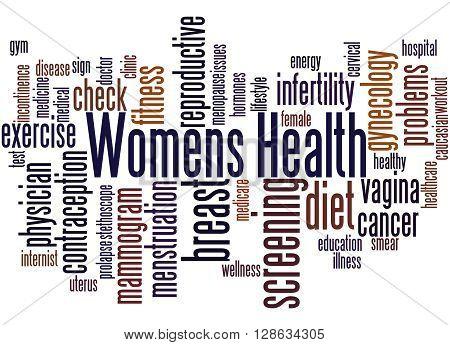 Womens Health, Word Cloud Concept 9