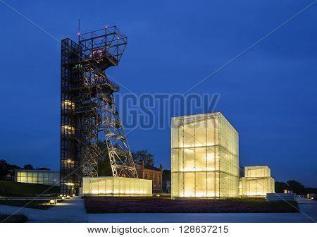 The former coal mine
