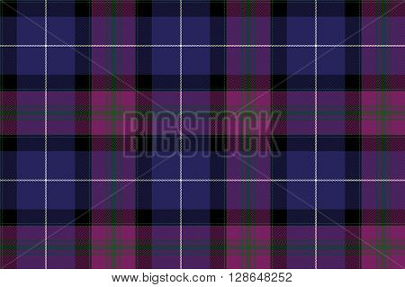 Pride of scotland tartan fabric texture seamless pattern .Vector illustration. EPS 10. No transparency. No gradients.