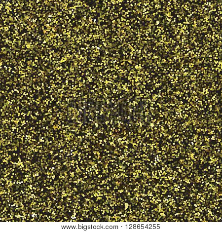 Seamless gold glitter texture. Golden glittered textured paper for craft and art. Nail polish texture. Eye shadow texture. Eyeshadow. Wrapping paper texture. Wallpaper texture. Fabric texture.