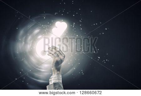 Key glowing icon