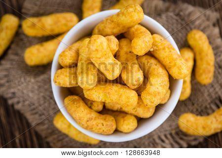 Heap Of Peanut Puffs