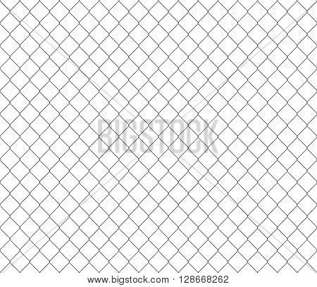 New steel mesh metalic fance black seamless background. Vector illustration. EPS 10. No transparency. No gradients. Raw materials are easy to edit.