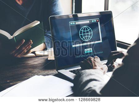 Web Online Technology Internet Website Connect Concept