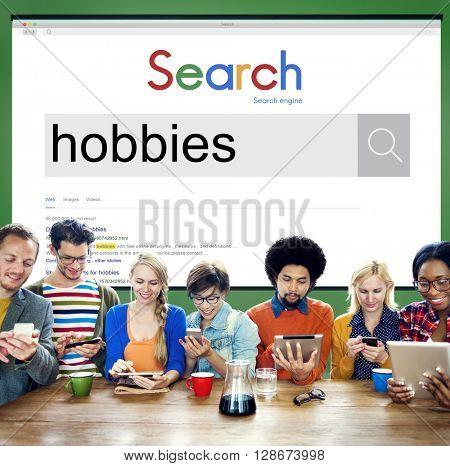 Hobbies Leisure Activity Pelasure Recreation Concept