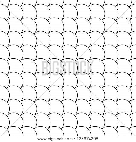 simple seamless pattern diagonal fish scales. Vector illustration. EPS 10.