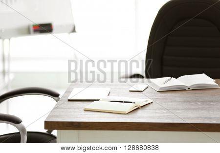 Modern stylish office work place