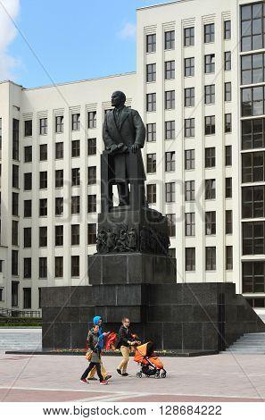 Minsk, Belarus, Parliament Building