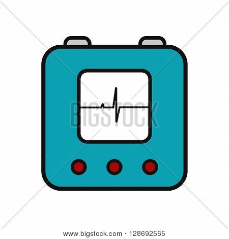 Defibrillator Icon Linear New
