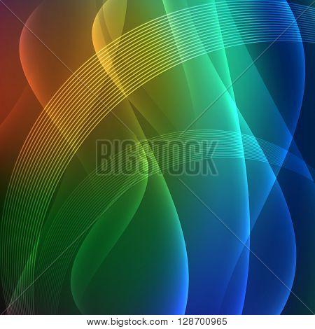 Colored Background Presentation Transparency Blending Line