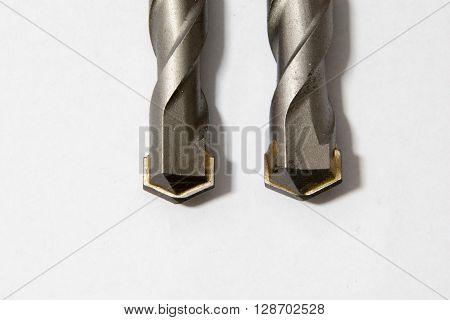 Masonry Drill Bits on a plain background
