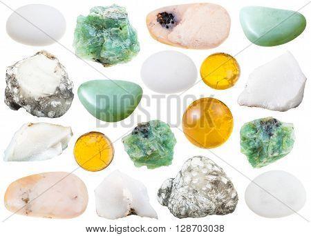 Set Of Various Opal Natural Gemstone