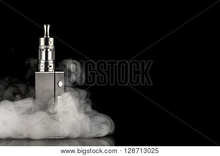 electronic cigarette over a the dark background