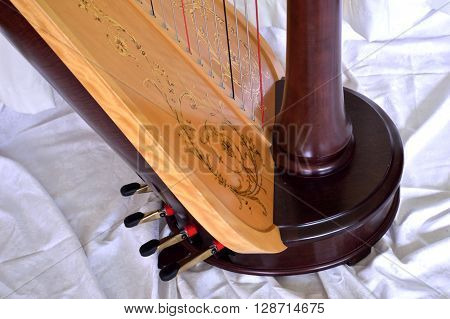 Pedal Harp Base